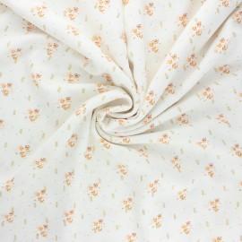 Lurex viscose fabric by Penelope® - raw Judite x 10cm