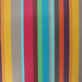 Tissu toile extérieur enduit Sunny Carioca - fuchsia x 10cm