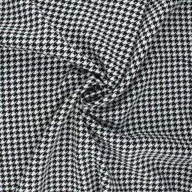 Tissu viscose Gallina - blanc x 10cm