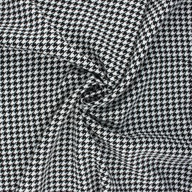 Viscose fabric - white Gallina x 10cm