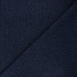 Jeans fabric - navy blue Vogua x 10cm
