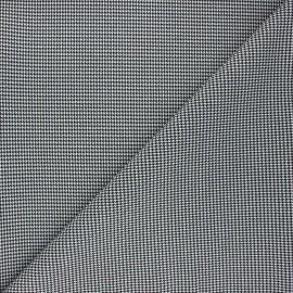 Polyviscose elastane fabric - white Lurwick x 10cm