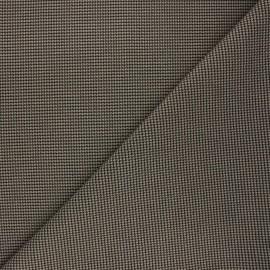 Tissu polyviscose élasthanne Lerwick - grège x 10cm