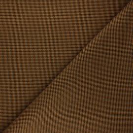 Polyviscose elastane fabric - ochre Lurwick x 10cm