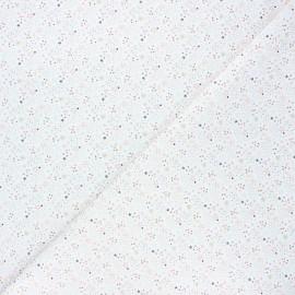 Cretonne cotton fabric - pink Simia x 10cm