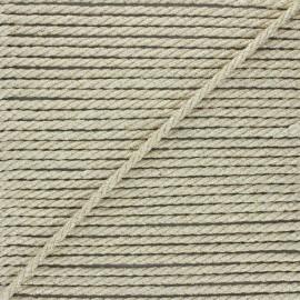Corde de jute Cora 5 mm - naturel/doré x 1m