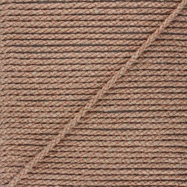5mm jute cord - natural/copper Cora x 1m