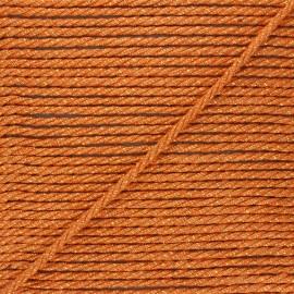 5mm jute cord - orange Cora x 1m