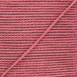 Corde de jute Cora 5 mm - rose x 1m