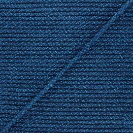 Corde de jute Cora 5 mm - bleu marine x 1m