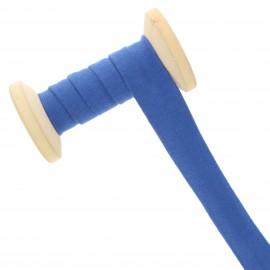 Biais Jersey 20 mm - bleu roi - Bobine de 20 m