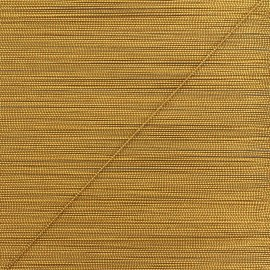 0,5 mm lurex cord - brown/gold Rumba x 1m