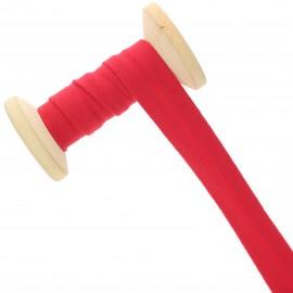 20 mm Jersey Bias Binding Roll - Red