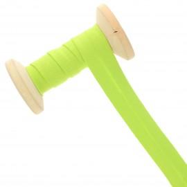 Biais Jersey 20 mm - vert granny - Bobine de 20 m