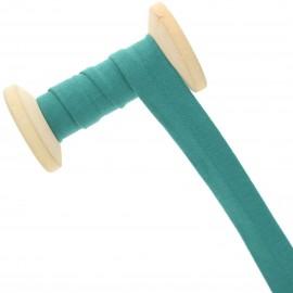 20 mm Jersey Bias Binding Roll - Viridian Green