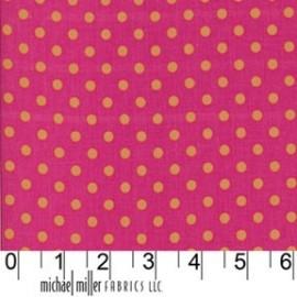 Tissu Dumb Dot Sorbet x 10cm