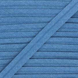 Biais jean Denim - bleu x 1m