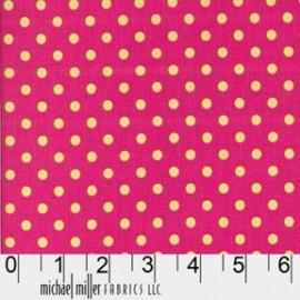 Tissu Dumb Dot Watermelon x 10cm