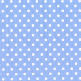 Tissu Dumb Dot Sky x10cm