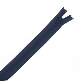 Fermeture Eclair® recyclée non-séparable - bleu marine