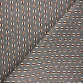 Tissu toile de coton Eiwe - gris x 10cm