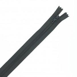 Fermeture Eclair® recyclée non-séparable - gris anthracite
