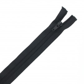 Recycled divisible nylon Eclair® zipper - black