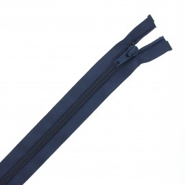 Fermeture Eclair® recyclée séparable nylon - bleu marine