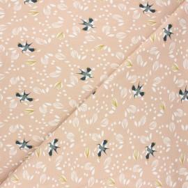 Tissu jersey Jolhiro - blush x 10cm