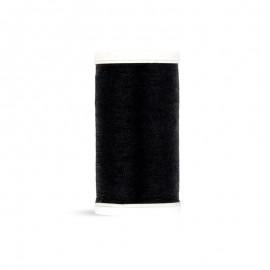 Fil à coudre Laser polyester - noir profond - 100m