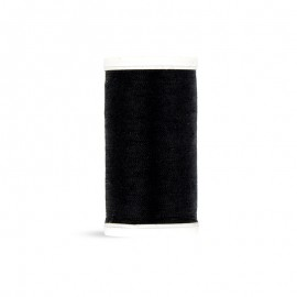 Polyester Laser sewing thread - deep black - 100m