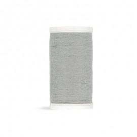 Fil à coudre Laser polyester - gris clair - 100m