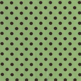 Tissu Dumb Dot Sage x 10cm