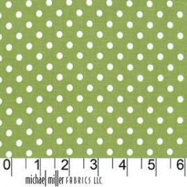 Tissu Dumb Dot Leaf x 10cm