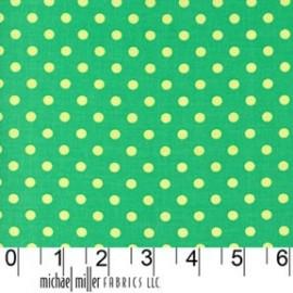 ♥ Coupon 70 cm X 110 cm ♥ Tissu Dumb Dot Sprout