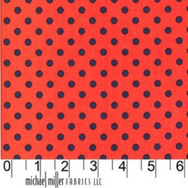 Tissu Dumb Dot Twilight x 10cm