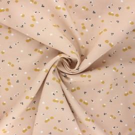 Viscose fabric - blush Nozbi x 10cm