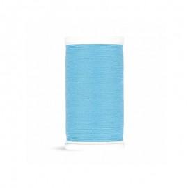 Fil à coudre Laser polyester - bleu ciel - 100m