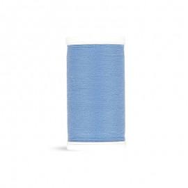 Fil à coudre Laser polyester - bleu vintage - 100m
