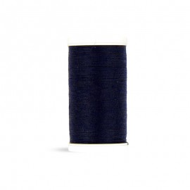 Fil à coudre Laser polyester - bleu nuit - 100m