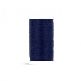 Fil à coudre Laser polyester - bleu marine - 100m