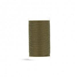 Fil à coudre Laser polyester - olive - 100m