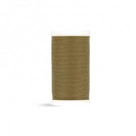 Fil à coudre Laser polyester - kaki brun - 100m
