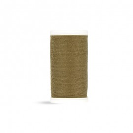 Polyester Laser sewing thread - brown khaki - 100m