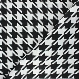 Tissu jacquard Tenby - blanc x 10cm