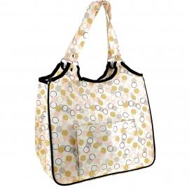 Sewing bag - Golden dots