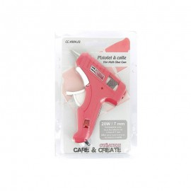 Hot glue gun - pink