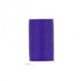 Fil à coudre Laser polyester - pervenche - 100m