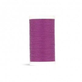 Polyester Laser sewing thread - cassis cream - 100m