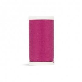 Fil à coudre Laser polyester - rose onagre - 100m